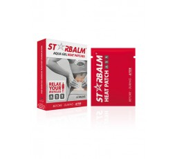 STARBALM GEL HEAT PATCHES 4 PATCHS
